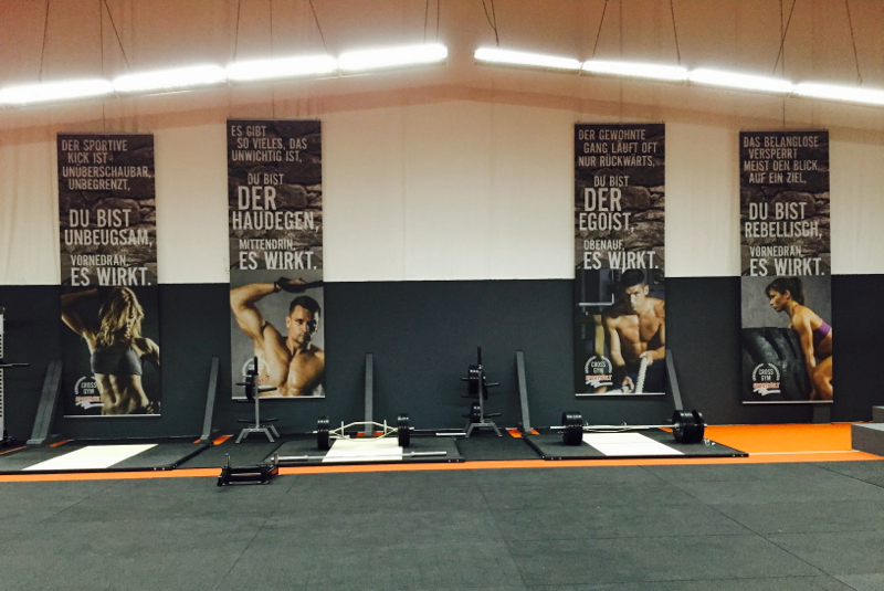 Separate Cross Gym Arena in der SPORTWELT Pegnitz