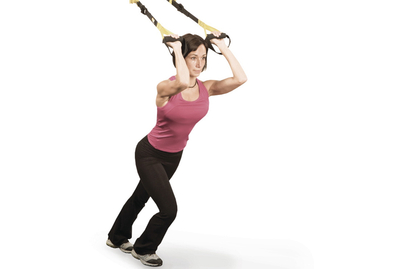 TRX ® Suspension Training in der separaten Cross Gym Arena in der SPORTWELT Pegnitz